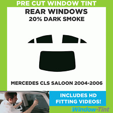 Rear Kit in 20/% Pre Cut Car Window Tints 2004-2010 Mercedes CLS 500