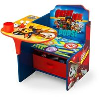 PAW Patrol Chair Desk with Storage Bin Delta Children Toddlers Wood Play Fun New