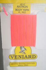 Veniard Antron Body yarn aby-07 fluo red