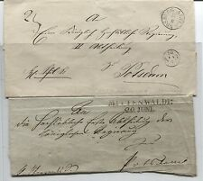 2 Briefhüllen an Die Royal Government in Potsdam (without Jahr) (B04302)