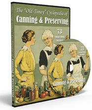Home Canning and Preserving 73 Rare Food Canning Books with Recipes on DVD