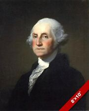 PRESIDENT GEORGE WASHINGTON PORTRAIT OIL PAINTING ART REAL CANVAS GICLEEPRINT