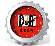 Die Simpsons DUFF Beer Bier Wecker Uhr Standuhr Kronkorken NEU&OVP
