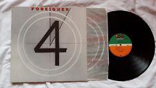 "Disque vinyl 33T - FOREIGNER ""4"" GERMANY 1981 Etat : NM/NM"