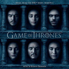Game of Thrones - Music From The HBO Series Season 6 CD Album (july 15th 2016)
