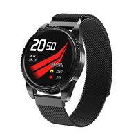 Smartwatch BT01 Pulsuhr Temperaturmesser IP68 Wasserdicht IPS Sport iOS Android