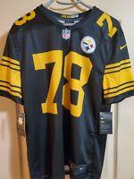 Alejandro Villanueva Nike Color Rush Pittsburgh Steelers NFL Football Jersey M