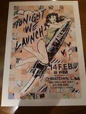 Faile - Launch Tonight - 2010 - Screen Print - Official - Ltd. Ed. Art