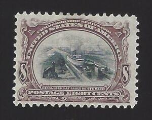 US #298 1901 Brown Violet & Black Wmk 191 Perf 12 Mint NG VF SCV $95