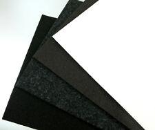 Filzgleiter Möbelgleiter Meterware stark selbstklebend 3mm dick, braun weiß grau
