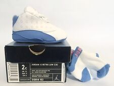 Brand New Nike Jordan 13 Retro Low (CB) Crib University Blue 310814-102 XIII 2c