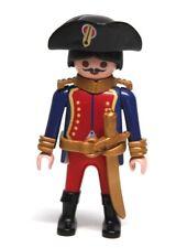 Playmobil Figure British Military Commander w/ Hat Gold Sword 3111
