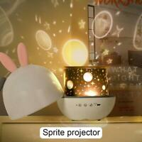 Star Sky Projection Light USB LED Galaxy Projector Starry Quality Lamp O0Q0