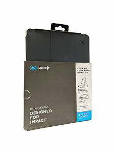 Speck Balance Folio Case for iPad 9.7/Pro 2017/Air/Air2 - Stormy/Charcoal Grey