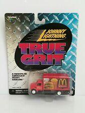 Rare Johnny Lightning True Grit Cargo Truck White Lightning Chase McDonald's Red