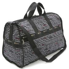 LeSportSac Large Weekender Weekdaze Nylon Duffle Bag + Pouch Week Days new w tag