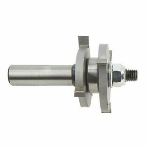 Bosch 84624M 1-7/8 In. x 1/4 In. Carbide Tipped Tongue and Groove Bit