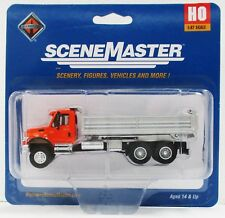 Ho Scale Walthers SceneMaster 949-11661 International 7600 3 Axle Dump Truck
