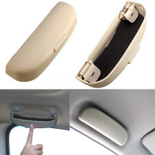 Beige Car Sunglasses Case Holder Glasses Storage Box for Peugeot 206 207 208
