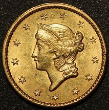 1849 U.S. Liberty Head $1 One Dollar Gold Coin - NICE QUALITY