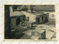 Foto, Wehrmacht, Erinnerung an den Dienst im Lazarett Krakau, Polen, a (N)19799