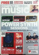 Computer Music UK April 2017 Power Synth Sessions Avenger Serum FREE SHIPPING sb