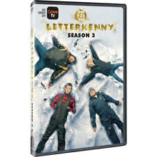 Letterkenny Jared Keeso Sitcom TV Series Complete Season 3 Box / DVD Set NEW!