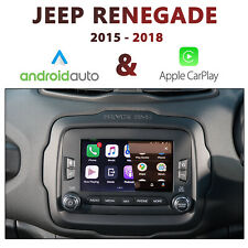 "JEEP Renegade 2015-2018 UConnect 6.5"" - Apple CarPlay & Android Auto Integration"