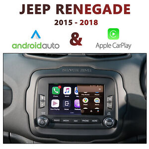 """JEEP Renegade 2015-2018 UConnect 6.5"""" - Apple CarPlay & Android Auto Integration"""