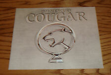 Original 1977 Mercury Cougar Silver Sales Brochure 77 XR-7