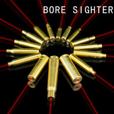 US Brass Laser Bore Sighter Rifle Shooting CAL Cartridge Red Dot Boresight