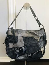 Coach Designer Zoe Silver Gray Bag 12901