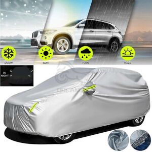 SUV Full Car Cover Waterproof Sun Snow Dust Rain Resistant Protection YL Size