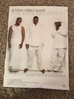 A Tribe Called Quest Original 1998 The Love Movement Promo Poster 24x18