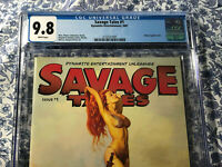 Red Sonja Savage Tales #1 CGC 9.8 Arthur Suydam 2007 Highest Grade CGC RARE VHTF