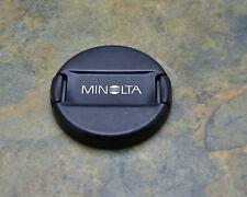 Genuine Minolta LF-1155 55mm Front Lens Cap Snap-On Auto Focus Lenses (#3278)