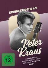 Erinnerungen an Peter Kraus - 3 DVD Box