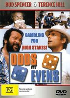 ODDS AND EVENS - BUD SPENCER & TERENCE HILL- NEW DVD FREE LOCAL POST