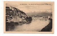 GRENOBLE - Il Forte & la Catenina delle Alpi (A4628)