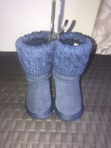 "Size 3 Navy  Children Kids Girls No infant""Ugg"" Next Boots"