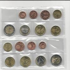 KMS ANDORRA 2014 lose Münzen : 1 Cent bis 2 euro