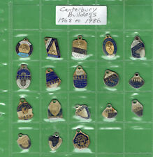 #T306.  CANTERBURY BULLDOGS RUGBY LEAGUE CLUB MEMBER BADGES 1968 to 1986