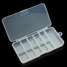 1 pcs Nail Art Acrylic Plastic Empty Compartment Storage Box Y089-1 NEW