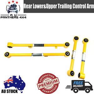 Adjustable Rear Lower&Upper Trailing Control Arms For Nissan GQ GU Patrol Y60/61