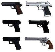 1/12 realistic weapon series realistic unpainted handgun (six) Japan Import