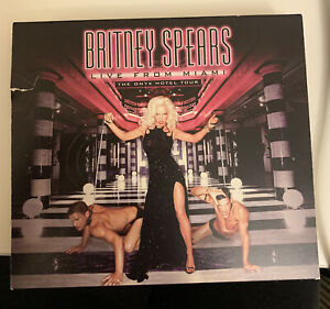 Britney Spears Fanmade CD Dvd Combo Onyx Hotel Tour Miami In The Zone