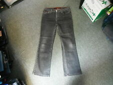 "Per Una Roma Stretch Jeans Size 14 Leg 28"" Black Faded Ladies Jeans"