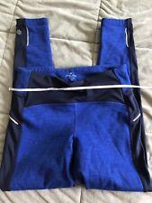 Athleta Blue Size M Fleece Lined legings