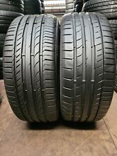 2x 225 40 18 Continental Conti Sport Contact 5 92Y XL 6.7MM PAIR