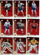 2017-18 Upper Deck Shining Stars RED Pick your singles $2 each, Flat Ship Rate